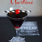 Black Magic Martini Halloween Party Cocktail!