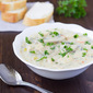 Creamy Chicken, Mushroom, and Wild Rice Soup