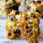 Zesty Apple Crumble Bars