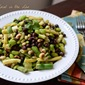 4 Bean Salad in a Cumin Oil and Lime Dressing