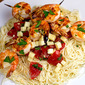 Shrimp Caprese Pasta