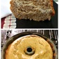Cream Cheese Stuffed Banana Bundt Cake