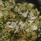 Shaved Brussels Sprouts Ceasar Salad