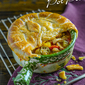 Chicken Gumbo Pot Pies
