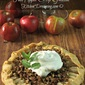 Fall Apple Crisp Galette
