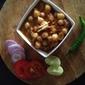 Restaurant style chick pea gravy|Channa batura gravy
