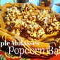 Maple Molasses Popcorn Balls with Cinnamon-Glazed Pecans
