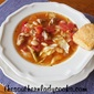 CROCK POT CABBAGE, PORK AND WHITE BEAN SOUP