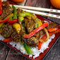 Slow Cooker Orange Beef & Fire Peppers