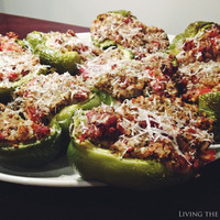 Italian Sausage Stuffed Bell Peppers