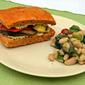 Mediterranean Monday – Grilled Eggplant Sandwich