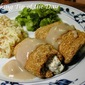 Herb Cheese Stuffed Chicken Bundles