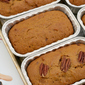 Vegan Pumpkin Bread inspired by How to Bake a Man {book tour + giveaway}
