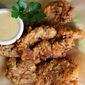 Buttermilk Fried Chicken Fingers with Honey Dijon Dipping Sauce