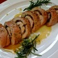 Stuffed Pork Tenderloin with Maple-Caramelized Onion and Bacon