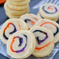 Halloween Spiral Slice and Bake Cookies