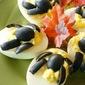 Spider Deviled Eggs {Halloween}
