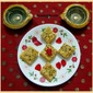 Besan Burfi ~ easy diwali sweet recipes