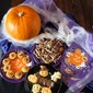 Chocolate Popcorn, Spooky Cakes, Pumpkin Soup and Pie-tatoes for Halloween