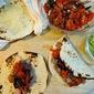 Steak Tacos with Charred Tomato Salsa