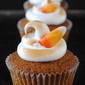 Pumpkin Cupcakes with Toasted Meringue