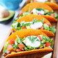 Three Bean Tacos