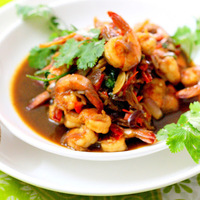 Prawns In Chilli Oyster Sauce