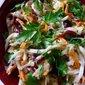 Celeriac, Kohlrabi, Carrot Slaw with Buttermilk Dressing