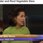 On TV: Pork Shoulder with Root Vegetable Stew