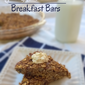 Recipe Connection: Pumpkin Oatmeal Breakfast Bars