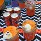 Halloween Drinks Using Fanta