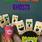 Krispie Rice Cereal Ghost Pops