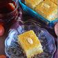 Basbousa / Semolina cake / Rava cake (eggless)