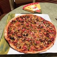 Favorite Thin Crust Pizza Supreme
