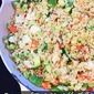 Quinoa and Fiesta Vegetable Skillet: the benefits of frozen fruits and vegetables