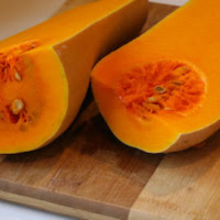 Recipe for Foil-Wrapped Grilled Butternut Squash with Sage (Gluten-Free, Meatless, Can Be Paleo)