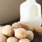 Applesauce Donut Muffins