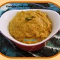 Dosakaya palli pachadi / Yellow cucumber peanut chutney