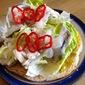 Danish Open Sandwich with Roll Mop Herring
