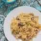 Mushroom paneer fried rice - easy rice varieties for your lunchbox