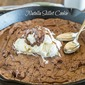 Nutella Skillet Cookie