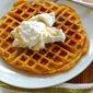 Spiced Butternut Squash Waffles