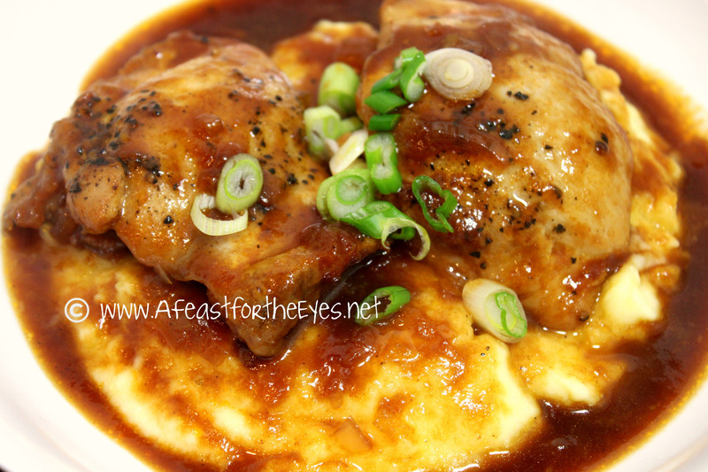 Peach Whiskey Barbecue Chicken Recipe by Debby - CookEatShare