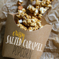 Crispy Salted Caramel Popcorn (Homemade Cracker Jacks!)
