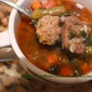 London Broil and Meatball Barley Soup Recipe