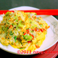 Bean Sprout Omelette