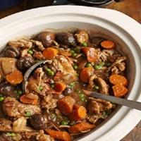 Crockpot Chicken-Stout Stew