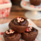 Peppermint Chocolate Truffle Cookie Cups