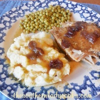 CROCK POT CRANBERRY ORANGE PORK LOIN ROAST