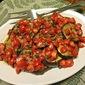 Grilled Eggplant with a Tomato Caper Vinaigarette